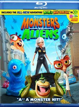 monstres contre aliens location films et jeux vid233o qu233bec