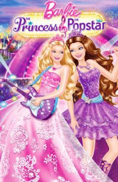 Barbie princesse et la pop star location films et jeux - Barbie et la princesse pop star ...