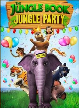 le livre de la jungle party dans la jungle location films et jeux vid o qu bec. Black Bedroom Furniture Sets. Home Design Ideas